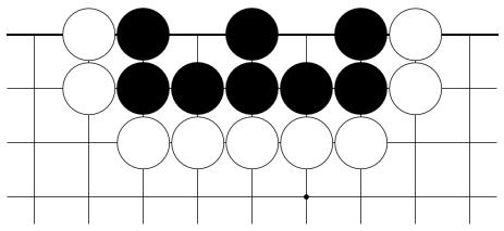 Kuva 3. Kiviryhmä, jolla on kaksi 'silmää'.